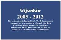 Добровольное прекращение работы BTjunkie.org