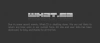 Закрытие легендарного музыкального трекера What.cd